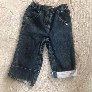 Burberry toddler jeans